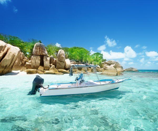 Speed boating | Coco Island, Seychelles