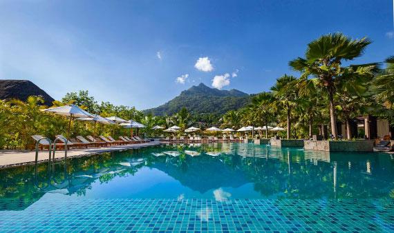 H Resort swimming pool