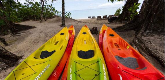 kayaking at story seychells